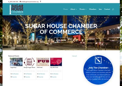 Sugar House Chamber of Commerce Website