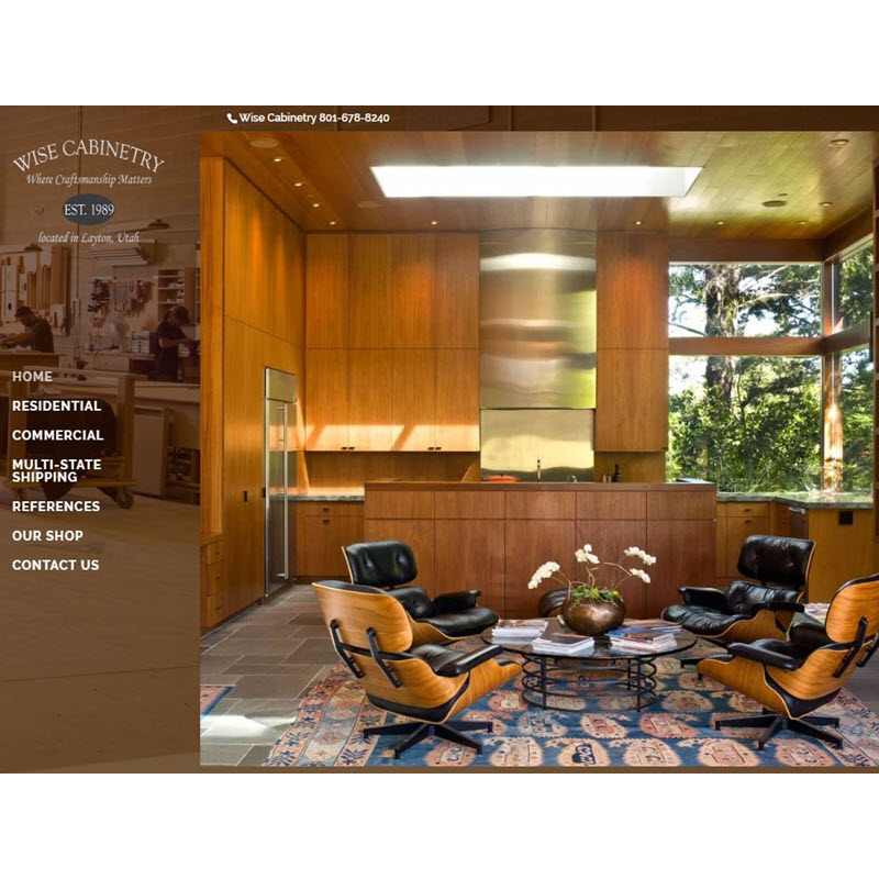 example site Wise Cabinetry