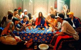 30 - David Lachapelle - Last supper