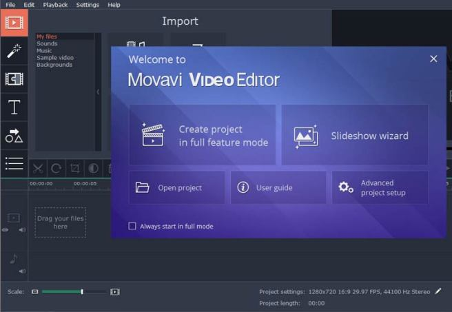 Movavi Video Suite latest version