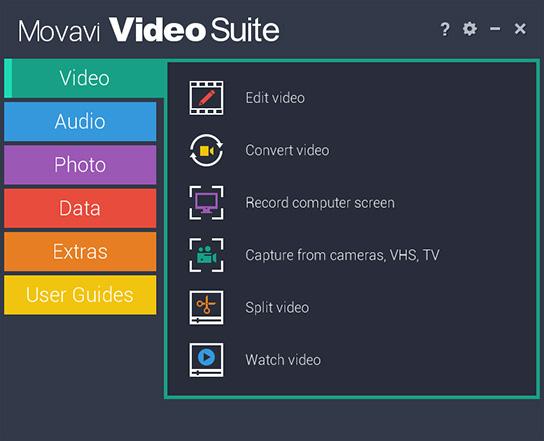 Movavi Video Suite windows