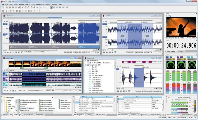 MAGIX Sound Forge Pro windows