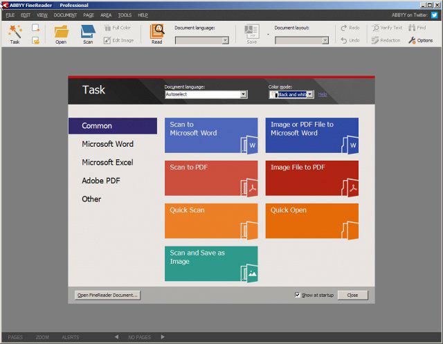 ABBYY FineReader Pro latest version