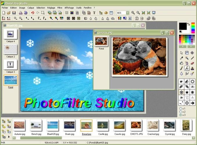PhotoFiltre Studio X latest version