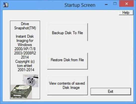 Drive SnapShot windows