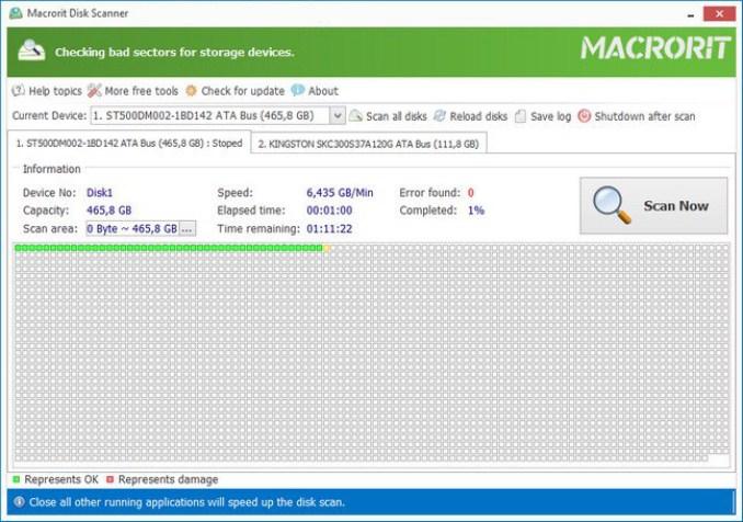 Macrorit Disk Scanner latest version