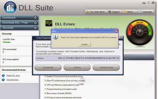 DLL Suite windows