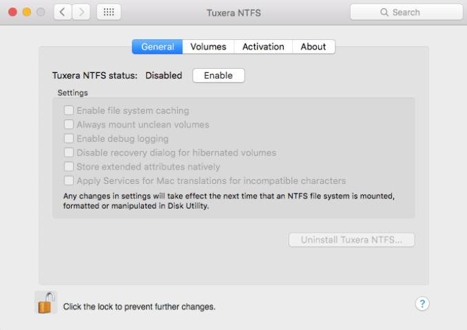 Tuxera NTFS latest version