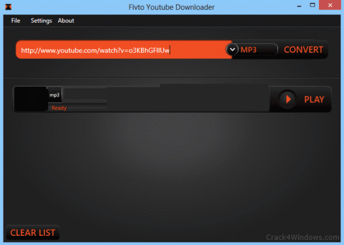 Flvto Youtube Downloader windows