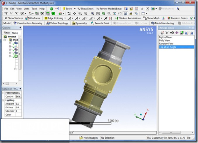 ANSYS Products latest version