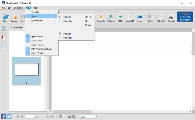 Able2Extract Professional windows
