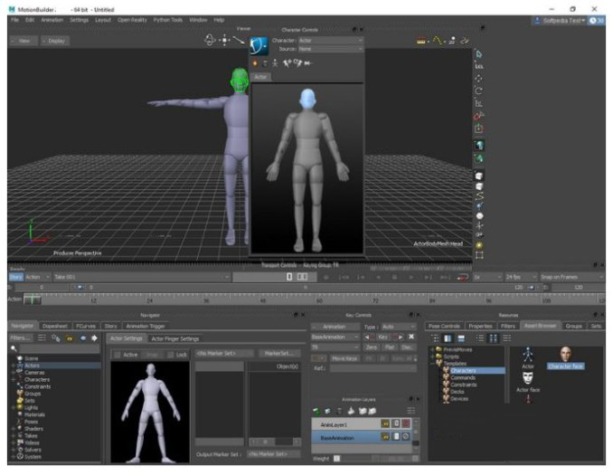 Autodesk Motionbuilder windows