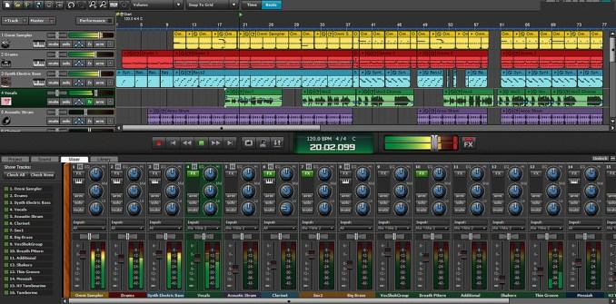 Mixcraft Pro latest version