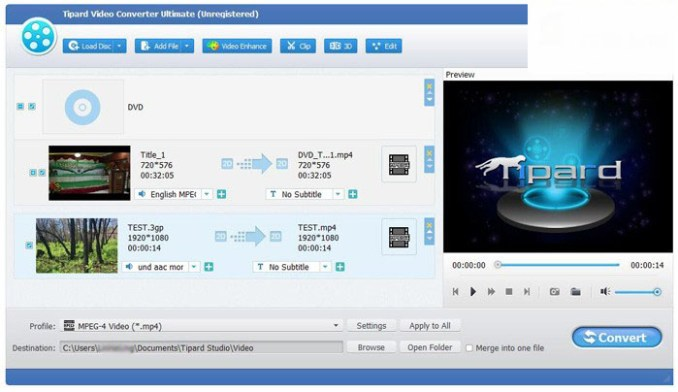 Tipard Video Converter Ultimate latest version