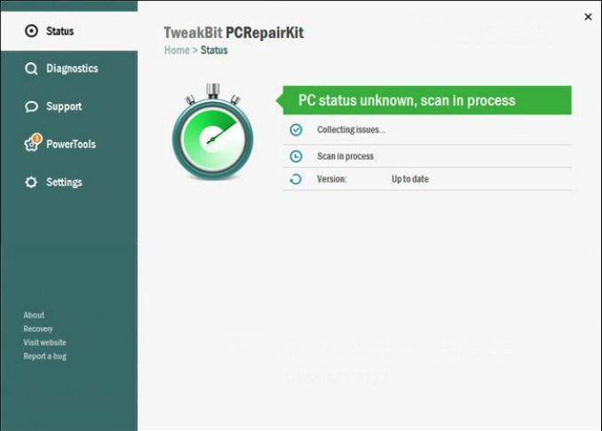 TweakBit PCRepairKit windows