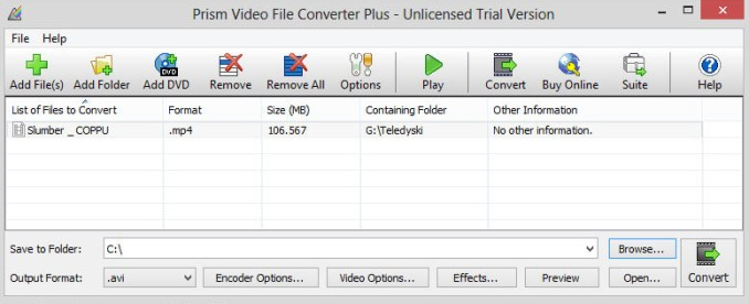 Prism Video File Converter latet version