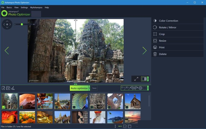 Ashampoo Photo Optimizer windows