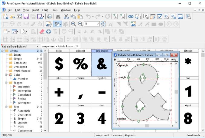 High-Logic FontCreator Professional Edition latest version