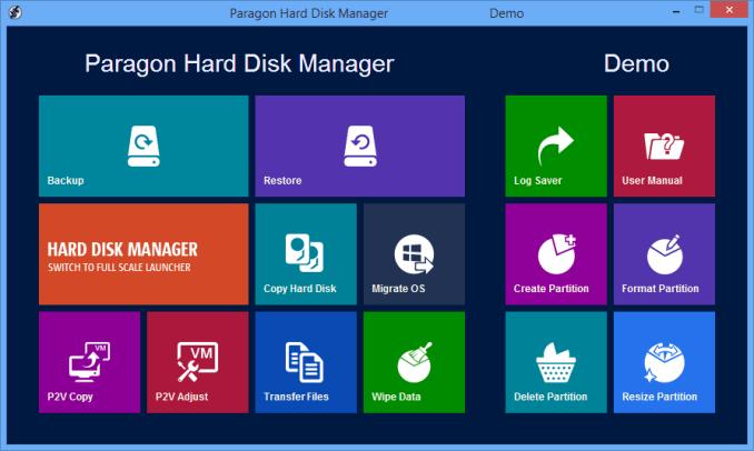 Paragon Hard Disk Manager latest version