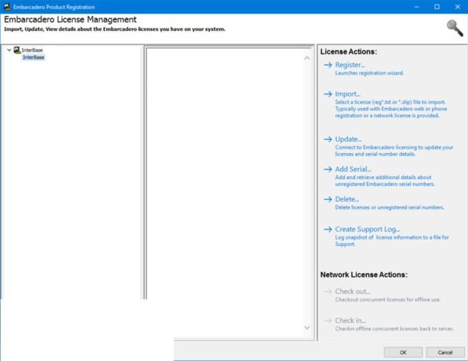 Embarcadero InterBase latest version