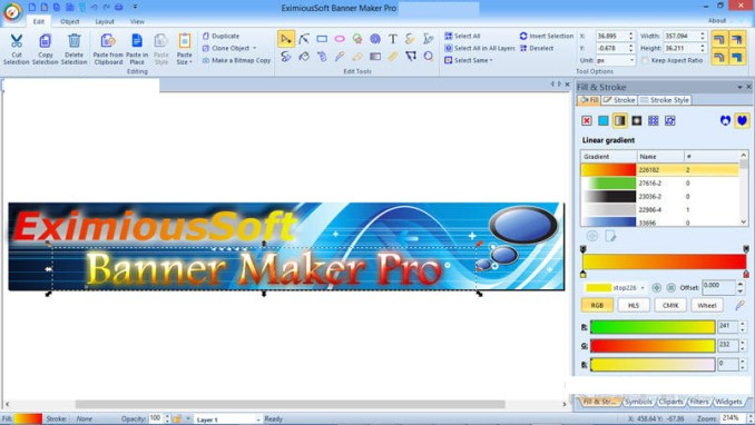 EximiousSoft Banner Maker Pro windows
