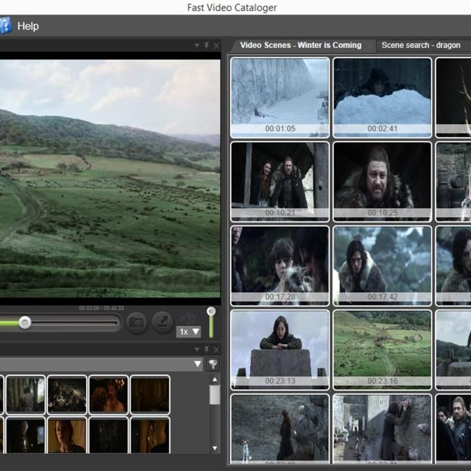Fast Video Cataloger windows