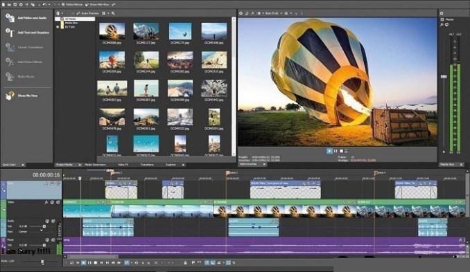 MAGIX VEGAS Movie Studio Platinum windows
