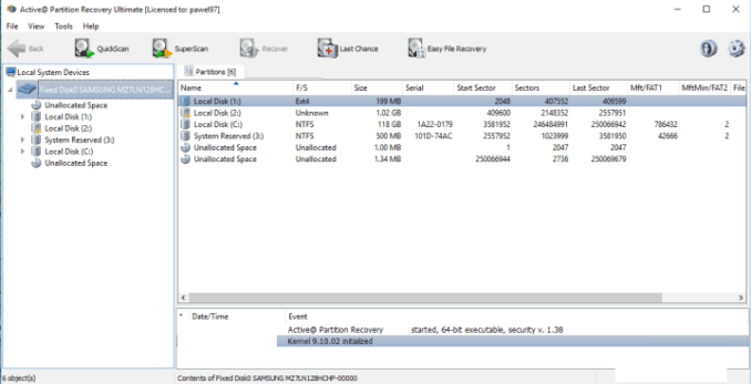 Active@ Partition Recovery Ultimate windows