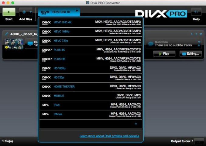 DivX Pro latest version