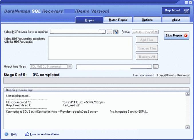 DataNumen Exchange Recovery windows