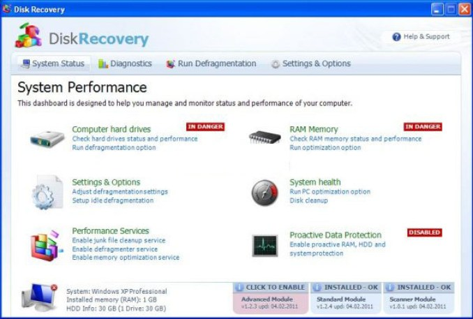 Systweak Advanced Disk Recovery windows