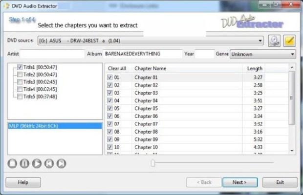 DVD Audio Extractor latest version