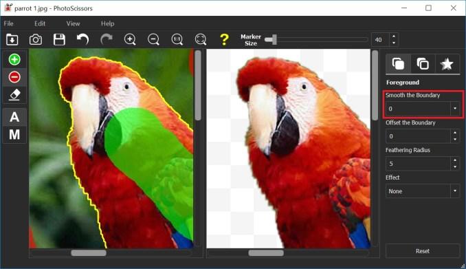 Teorex PhotoScissors latest version