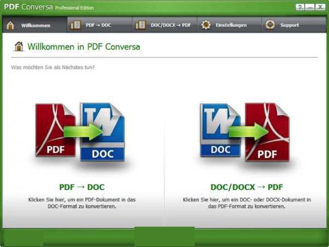 PDF Conversa Professional windows