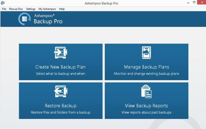 Ashampoo Backup Pro latest version