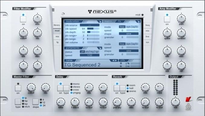 Refx Nexus windows