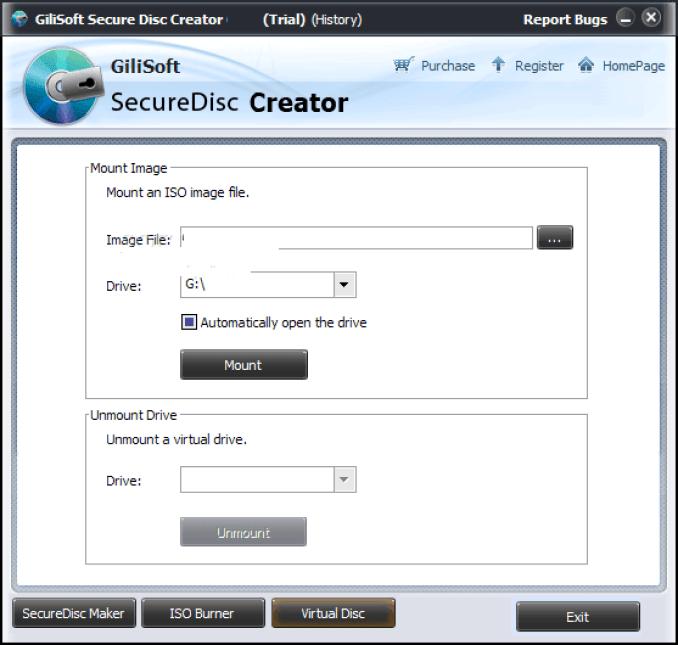 Gilisoft Secure Disk Creator latest version