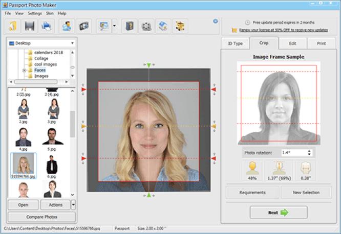Passport Photo Maker windows