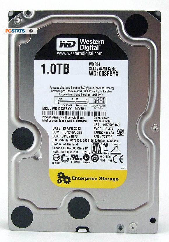 Western Digital 1TB WD RE4 Enterprise Hard Drive Review On