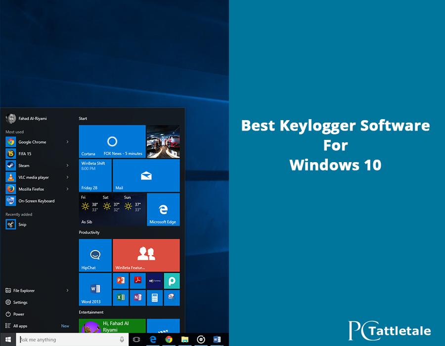 keylogger windows 10 phone