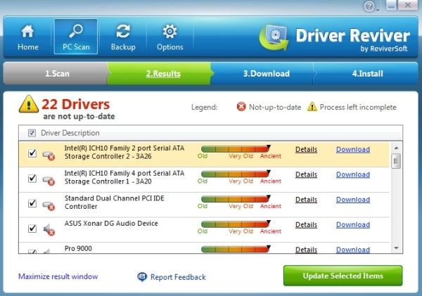 Driver Reviver Scan