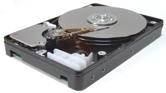 Hard disk (hard drive) construction