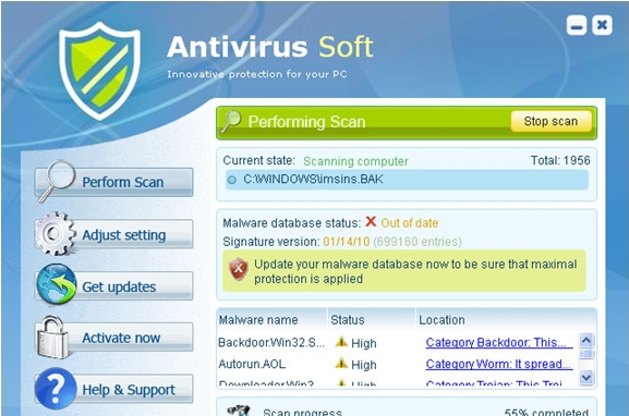 How to Remove Antivirus Soft
