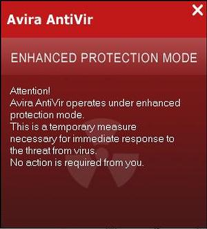 How to Remove Avira AntiVir Enhanced Protection Mode