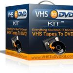 Rip Import Copy VCR VHS Video and Burn to DVD with Nero
