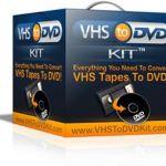 Transfer VHS to DVD Method