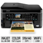 Epson WorkForce 645 Wireless All-In-One Color Inkjet Printer