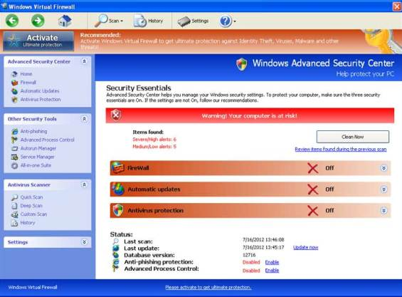Windows Virtual Firewall