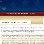 United States Courts virus | Locked Computer