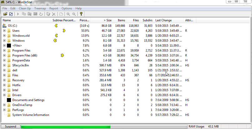 windows directory statistics free download